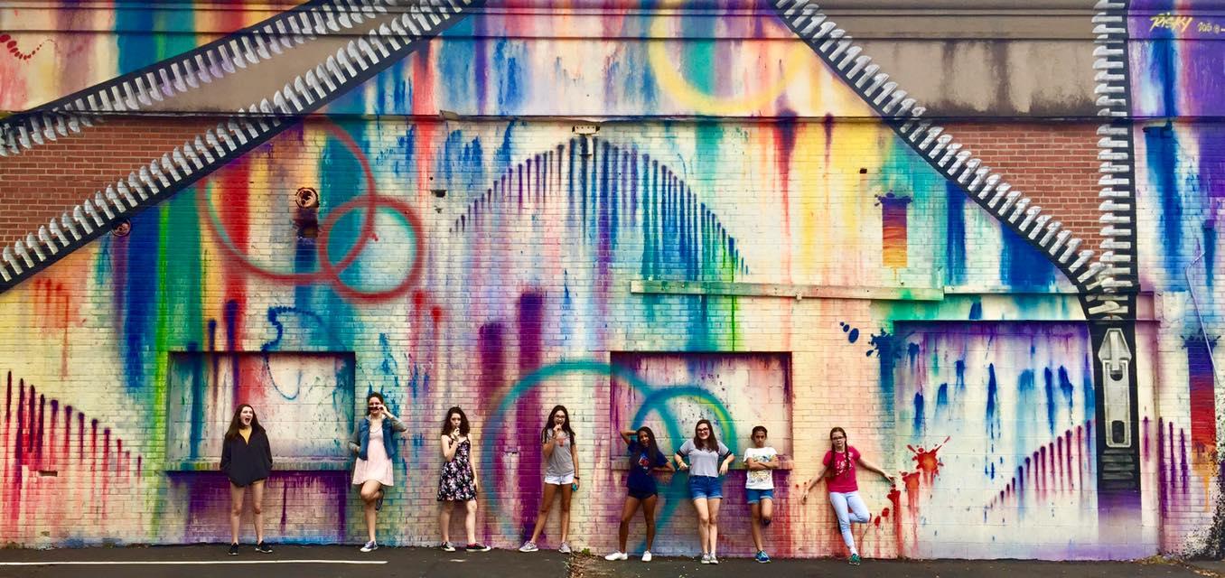 Houston Wall Mural Tour Bending Bayous Community
