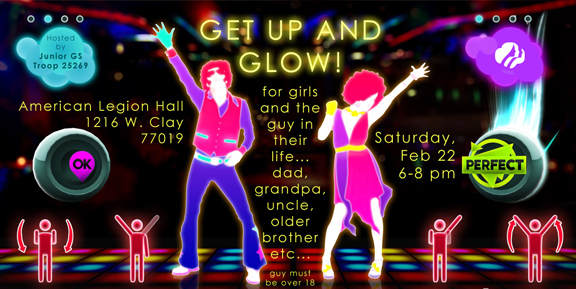 Save the Date - Get Up And Glow